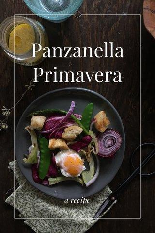 Panzanella Primavera a recipe