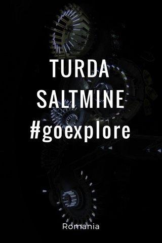 TURDA SALTMINE #goexplore Romania