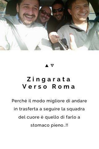 Zingarata Verso Roma