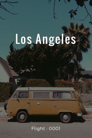 Los Angeles Flight : 0001