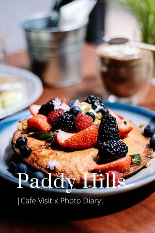 Paddy Hills  Cafe Visit x Photo Diary 