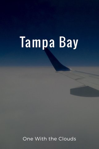 Tampa Bay One With the Clouds