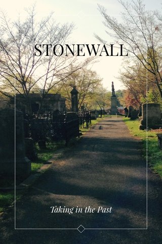 STONEWALL Taking in the Past