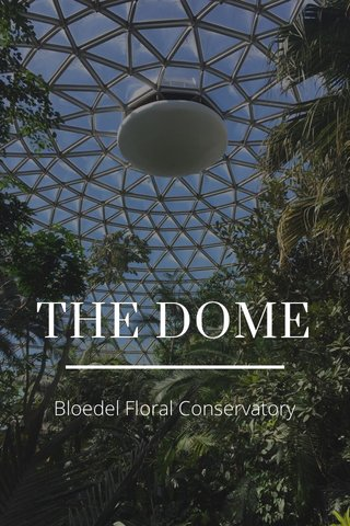 THE DOME Bloedel Floral Conservatory
