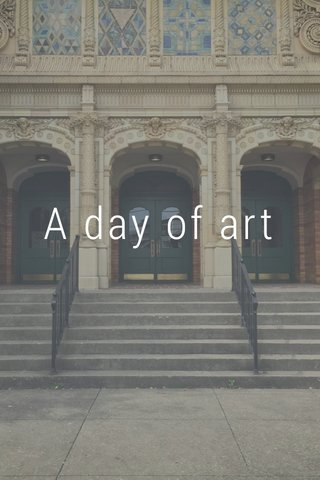 A day of art