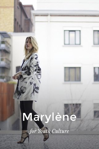 Marylène for Youth Culture