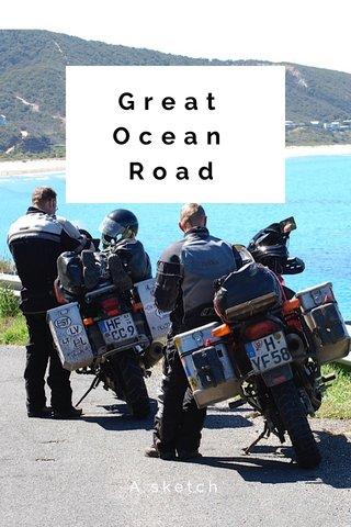 Great Ocean Road A sketch