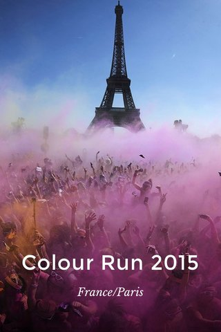 Colour Run 2015 France/Paris