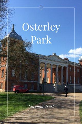 Osterley Park National Trust