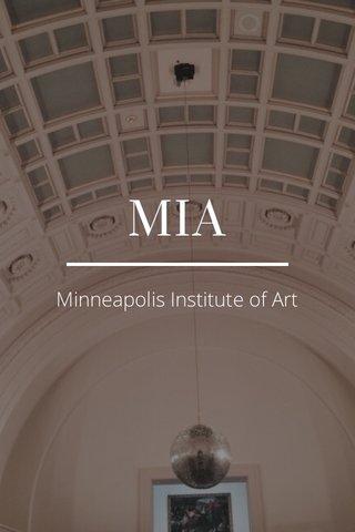 MIA Minneapolis Institute of Art