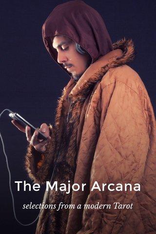 The Major Arcana selections from a modern Tarot