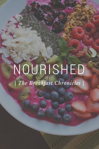 NOURISHED | The Breakfast Chronicles |