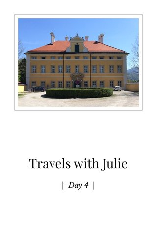 Travels with Julie