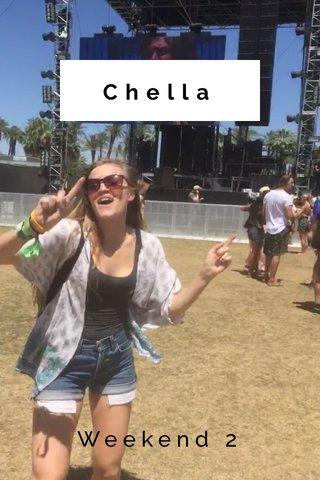 Chella Weekend 2