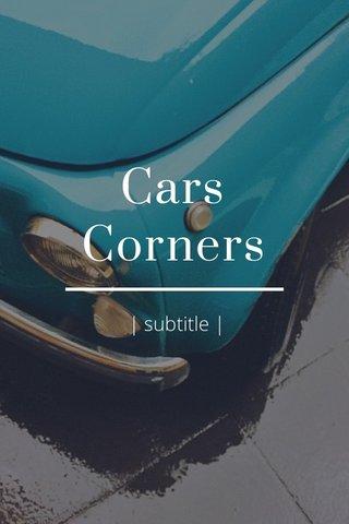 Cars Corners | subtitle |