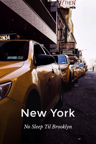 New York No Sleep Til Brooklyn