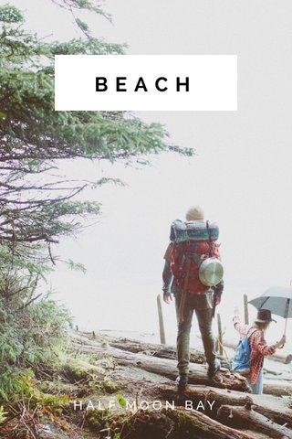 BEACH HALF MOON BAY