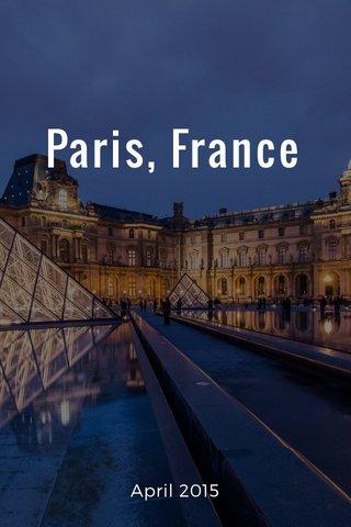 Paris, France April 2015