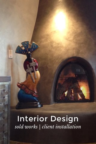 Interior Design sold works | client installation