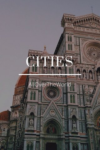 CITIES AllOverTheWorld