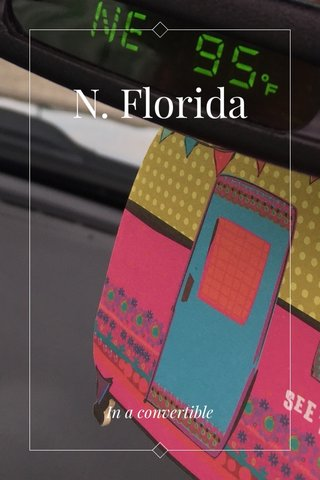 N. Florida In a convertible