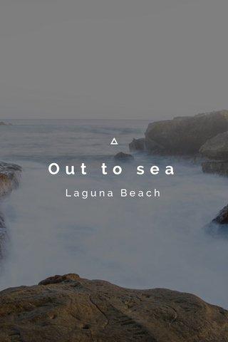 Out to sea Laguna Beach