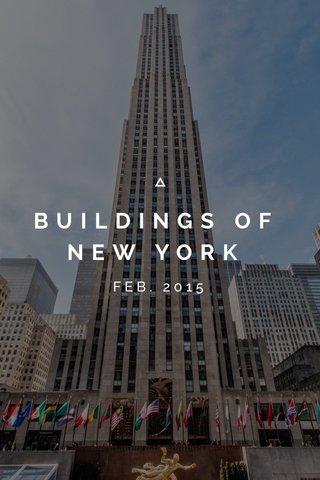 BUILDINGS OF NEW YORK FEB. 2015