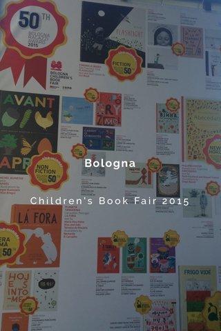 Bologna Children's Book Fair 2015