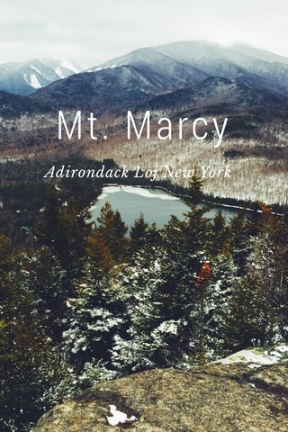 Mt. Marcy Adirondack Loj New York