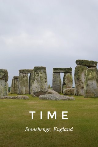 TIME Stonehenge, England