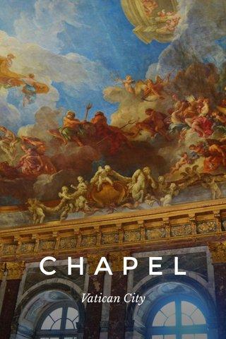 CHAPEL Vatican City