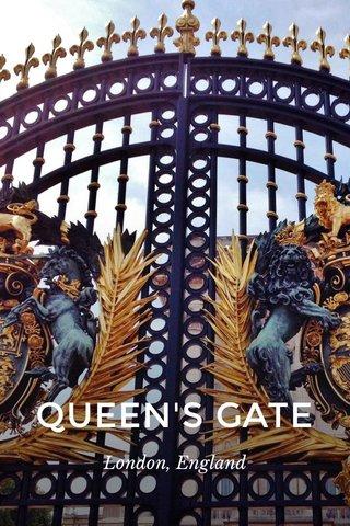 QUEEN'S GATE London, England