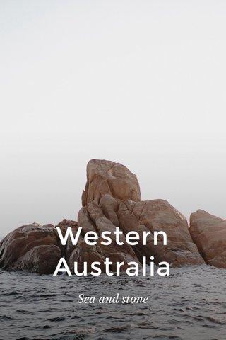 Western Australia Sea and stone