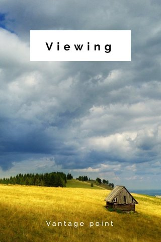 Viewing Vantage point