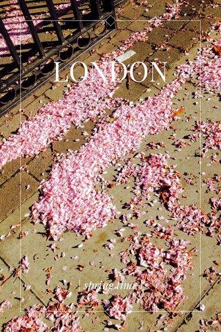 LONDON | spring time |