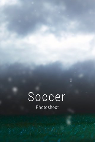 Soccer Photoshoot