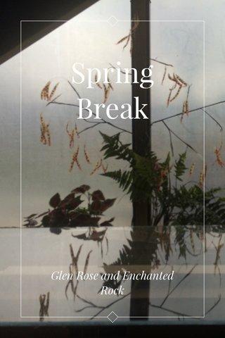 Spring Break Glen Rose and Enchanted Rock