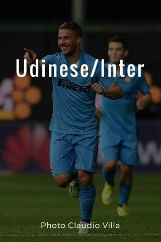 Udinese/Inter Photo Claudio Villa