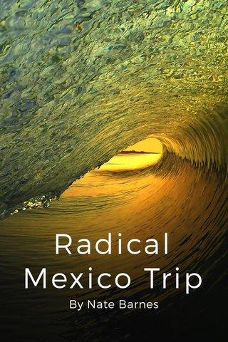 Radical Mexico Trip By Nate Barnes