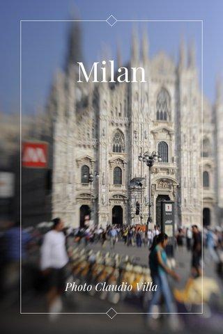 Milan Photo Claudio Villa