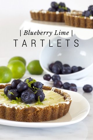 TARTLETS | Blueberry Lime |