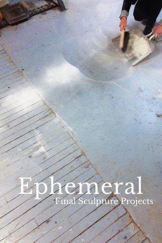 Ephemeral Final Sculpture Projects