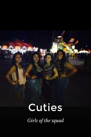 Cuties Girls of the squad