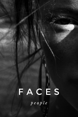 FACES people