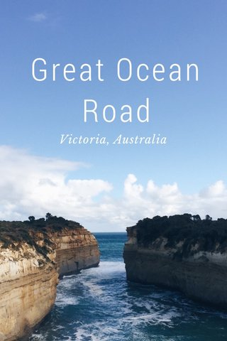 Great Ocean Road Victoria, Australia