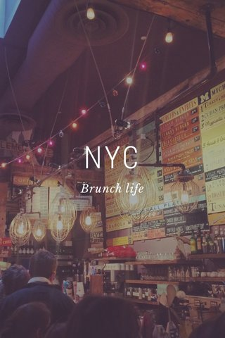 NYC Brunch life
