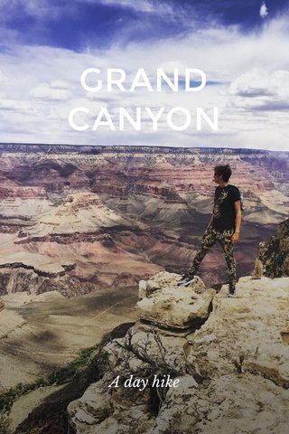 GRAND CANYON A day hike