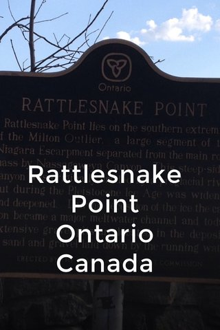 Rattlesnake Point Ontario Canada