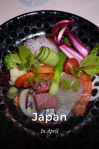Japan In April