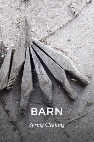 BARN Spring Cleaning